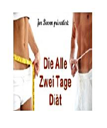 Bauchfett weg mit der alle zwei Tage Diät